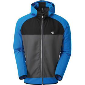 Dare 2b Aptile Softshell Jas Heren, athletic blue/ebony grey/black
